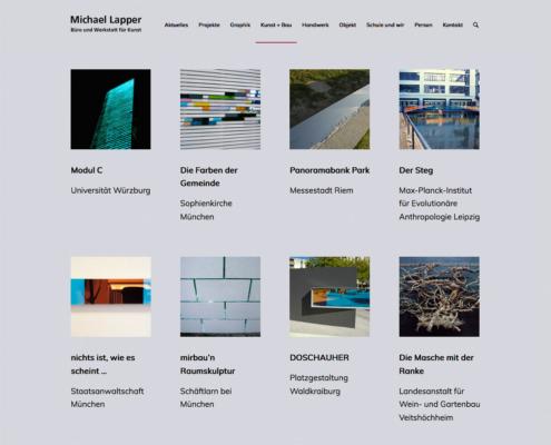 Website Michael Lapper